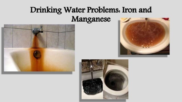 Manganese Ion In Drinking Water