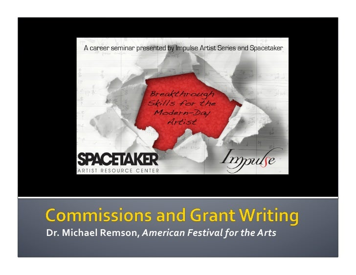 Commissions & Grant Writing
