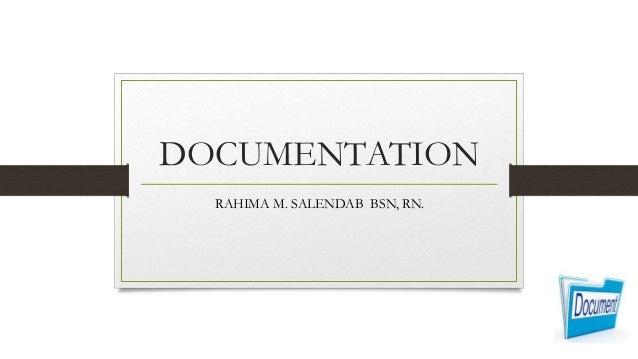 documenation