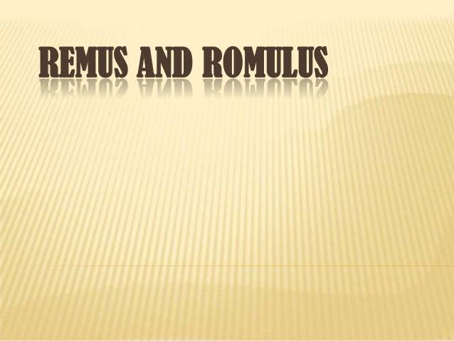 Remus and romulus- Rome