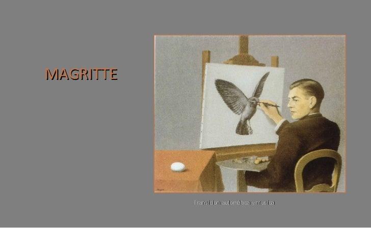 René Magritte, Surrealista, pintor europeo