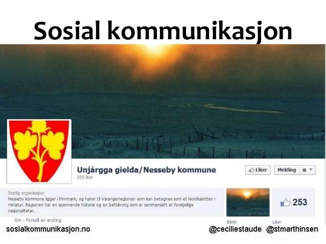 Sosial kommunikasjon