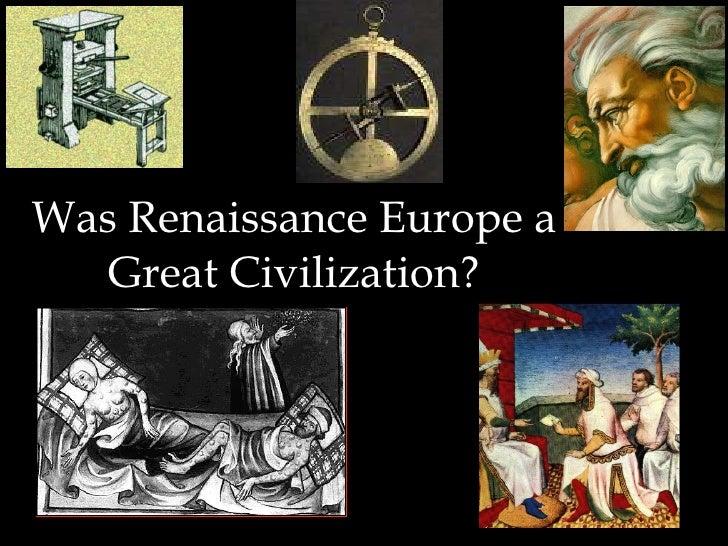 Renaissance Civilization