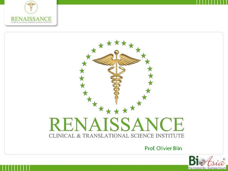 Renaissance ctsi at BioAsia