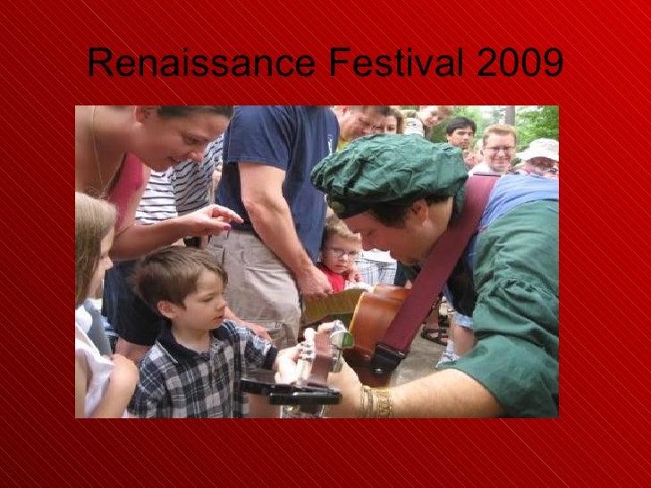 Renaissance Festival 2009