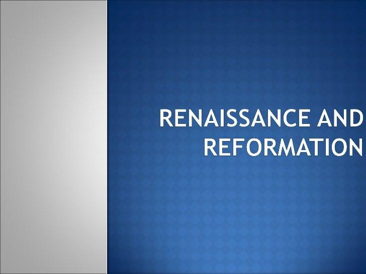 Renaissance Review