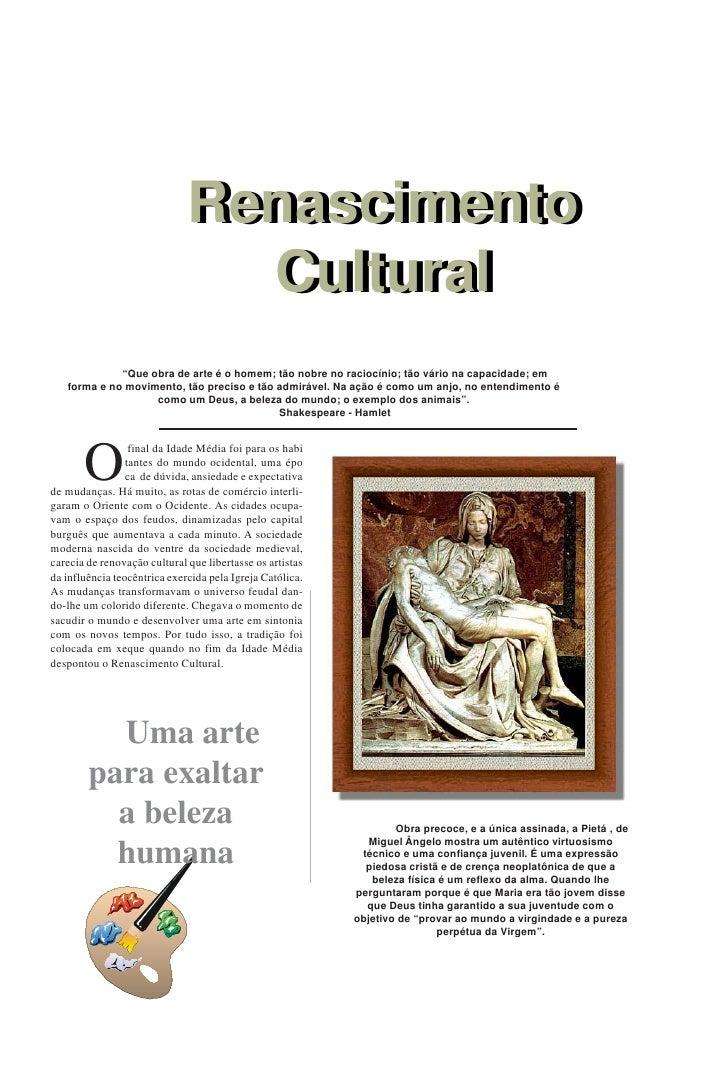 Renascimento                               Renascimento                                 Cultural                          ...