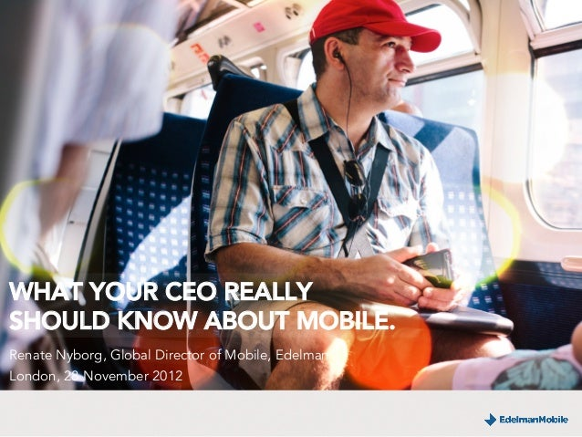 What Your CEO Should Really Know About Mobile.