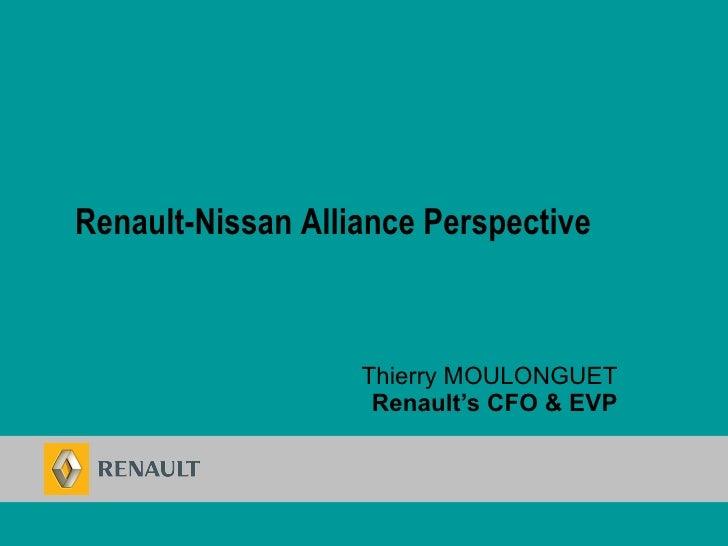 Renault Alliance Perspective