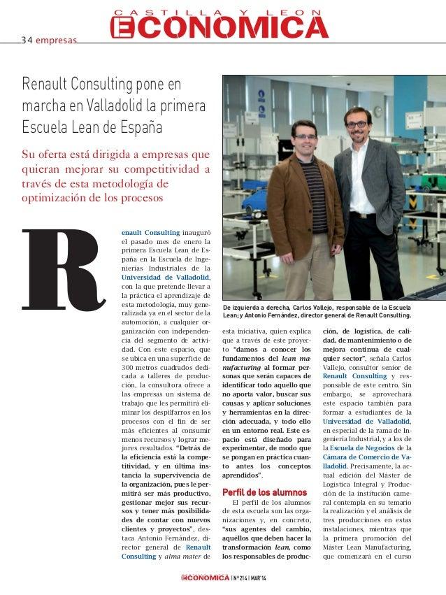 Renault Consulting en Castilla y León Económica
