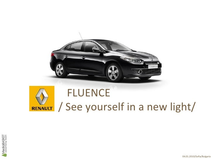Renault Fluence Campaign
