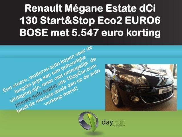 Renault Mégane Estate dCi130 Start&Stop Eco2 EURO6BOSE met 5.547 euro korting