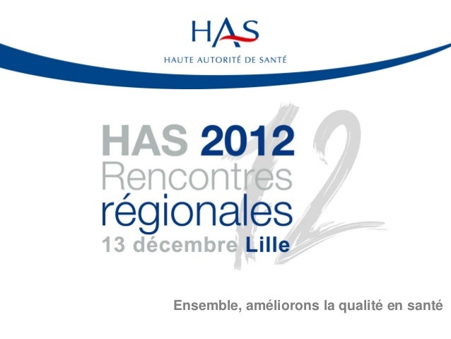 Rencontres regionales has lille