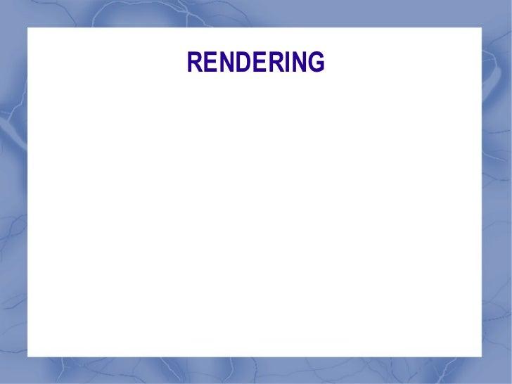 Rendering Intro