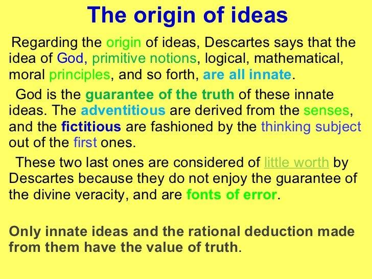 rene descartes proof of god s existence