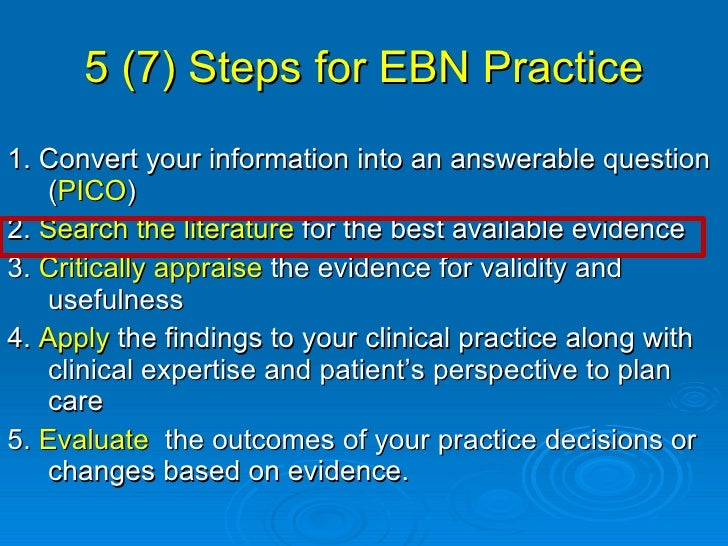 evidence based practice and applied nursing research Here is the best resource for homework help with ebp c361 : evidence based  practice and applied nursing research at western governors university.