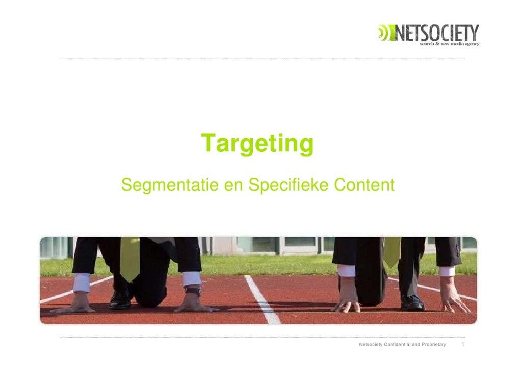 Event:   DDMA iLounge  Thema:  AIDA 2.0, Optimalisatie van de salesfunnel Spreker:   Rene Nijhuis – Netsociety Datum:  9 m...