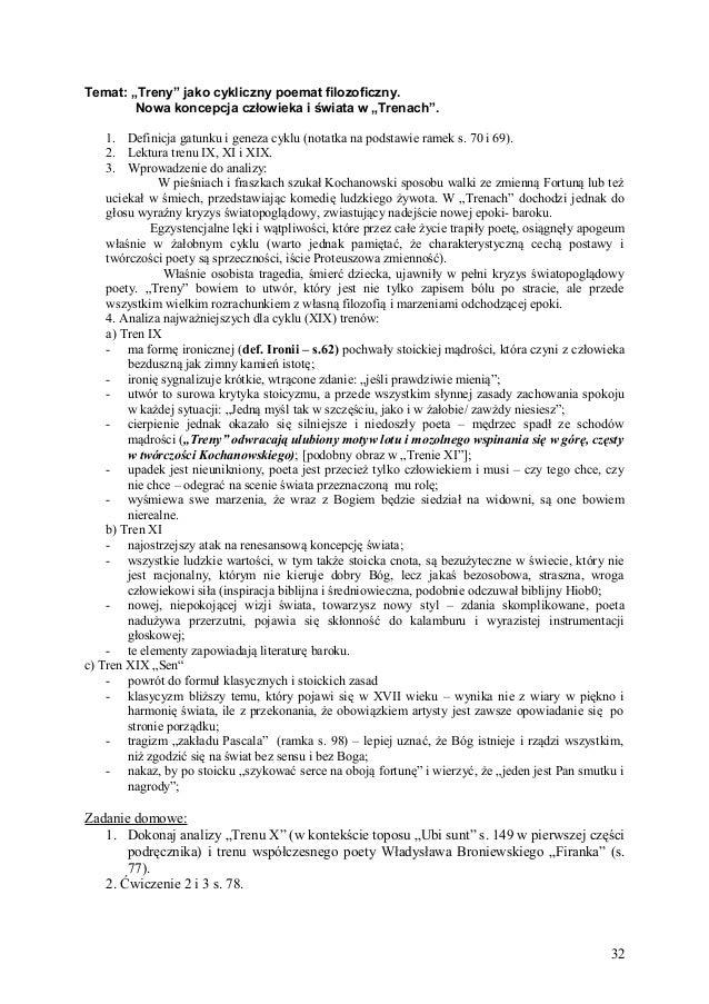 Ignacy Krasicki renesans