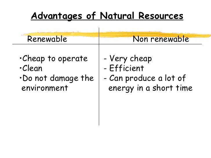 renewable and non renewable resources sei com