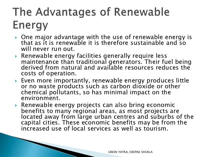 advantages renewable energy resources environmental sciences essay   advantages renewable energy resources environmental sciences essay  learn how solar power works the benefits it