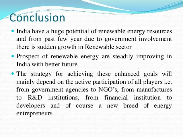energy resources in india essay Discover the benefits, environmental impact, economic benefits and energy security of renewable energy.