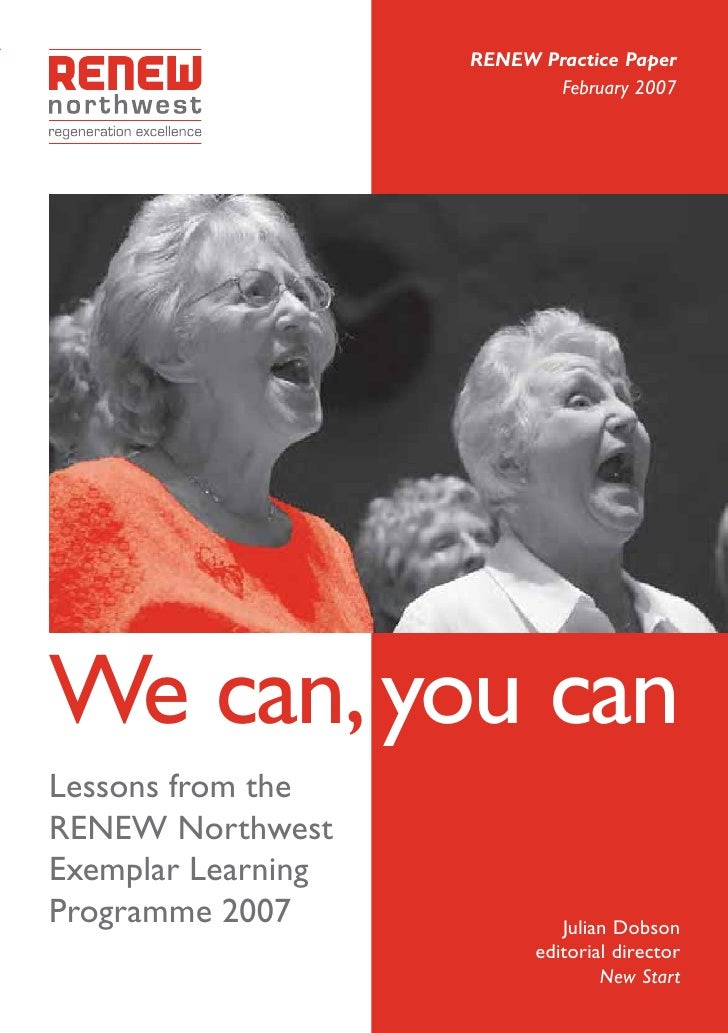 We can, you can: lessons in regeneration
