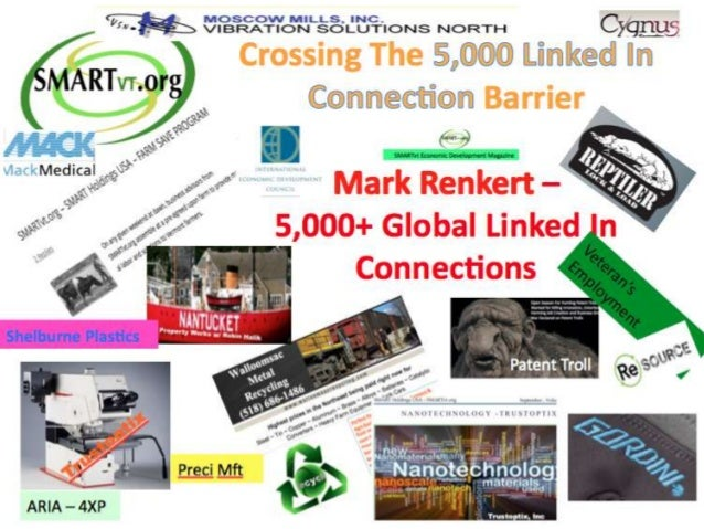 Mark Renkert Crosses 5,000 Link In Connection Barrier