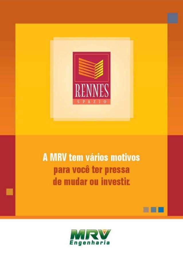MRV Folder Rennes | Rio de Janeiro - RJ