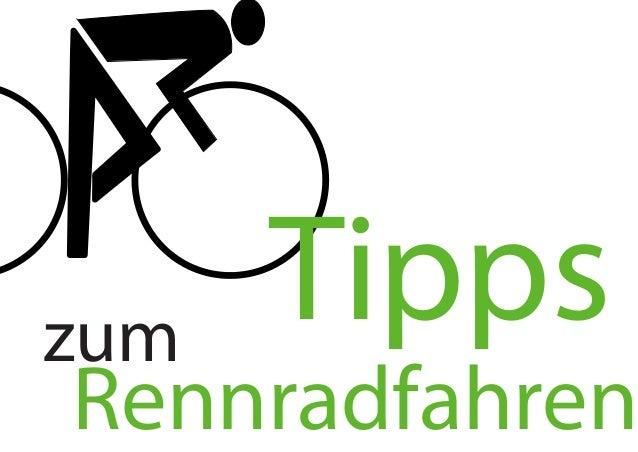 zum  Tipps  Rennradfahren