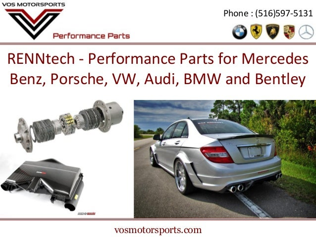 Renntech performance parts for mercedes benz porsche for Mercedes benz racing parts