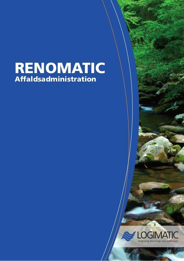 Renomatic Brochure (DANISH)
