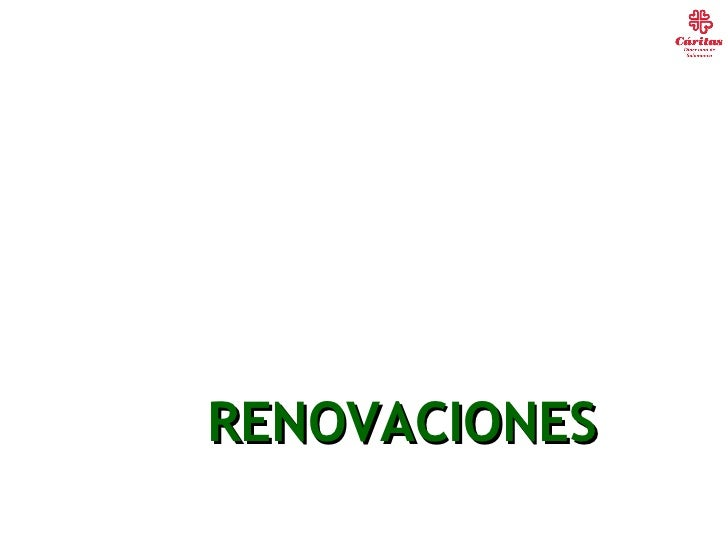 RENOVACIONES