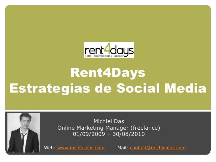 Rent4Days Estrategias de Social Media (ES)