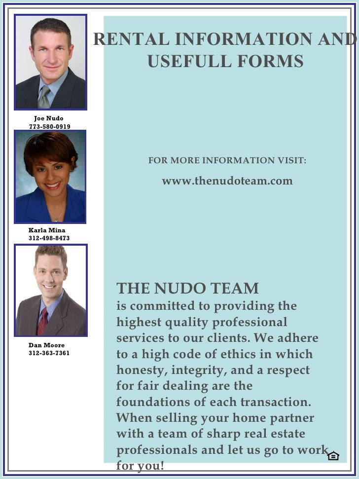 THE NUDO TEAM is committed to providing the highest quality professional services to our clients. We adhere to a high code...