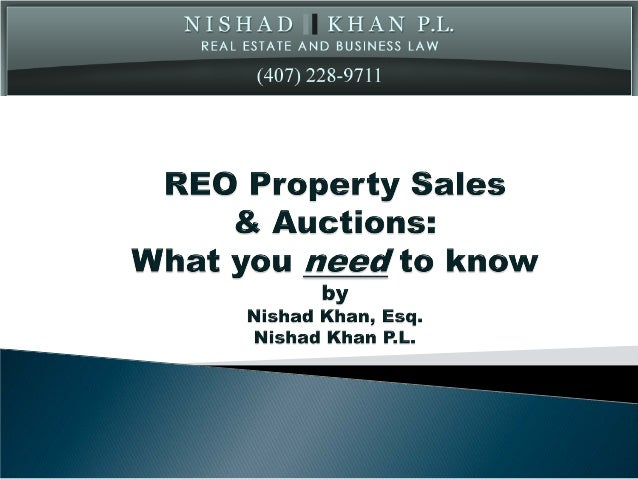 REO & Auctions
