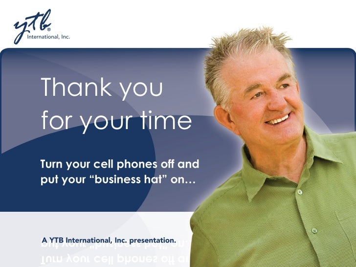 YTB Rep Presentation