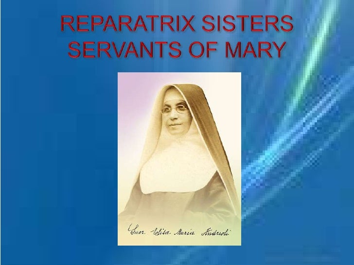 Reparatrix Sisters Servants of Mary - Philippines