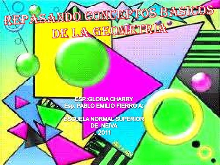 Repasando conceptos basicos_de_la_geometria