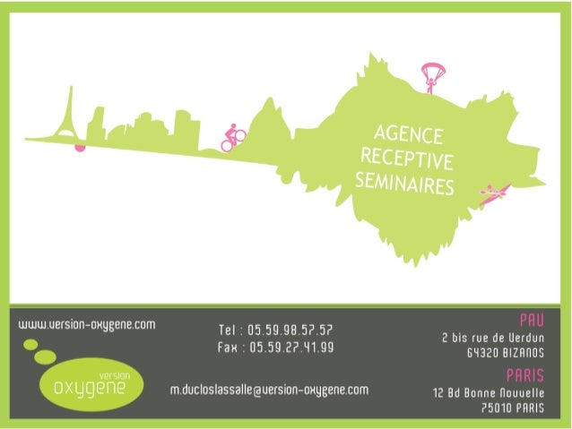Proposition Version Oxygène Rattachée depuis 2006 au groupe Ailleurs, Version Oxygène est une agence réceptive située à Bi...