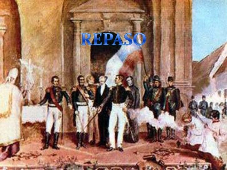 INDEPENDENCIA DE CHILE Desde   que Napoleón Bonaparte invadió España y capturó al rey Fernando VII (1808) se vivía en Chi...
