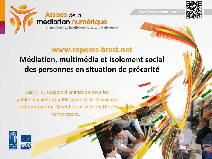 Repères dans la Cité - Ville de Brest (Atelier e-inclusion)
