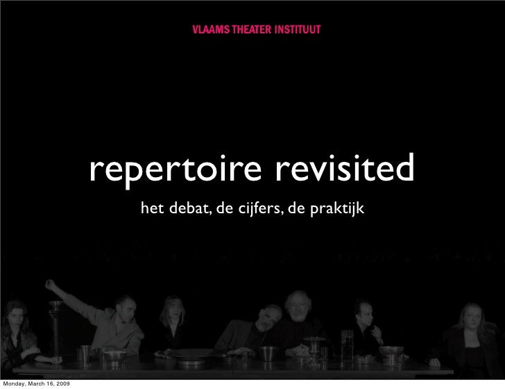 Repertoire Revisited