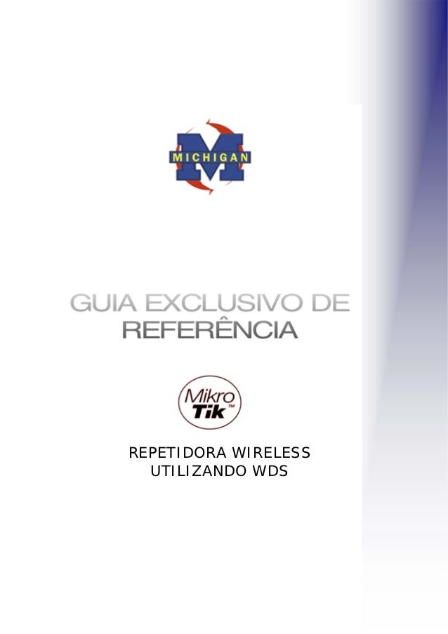 Repetidora wireless-utilizando-wds-mikrotik