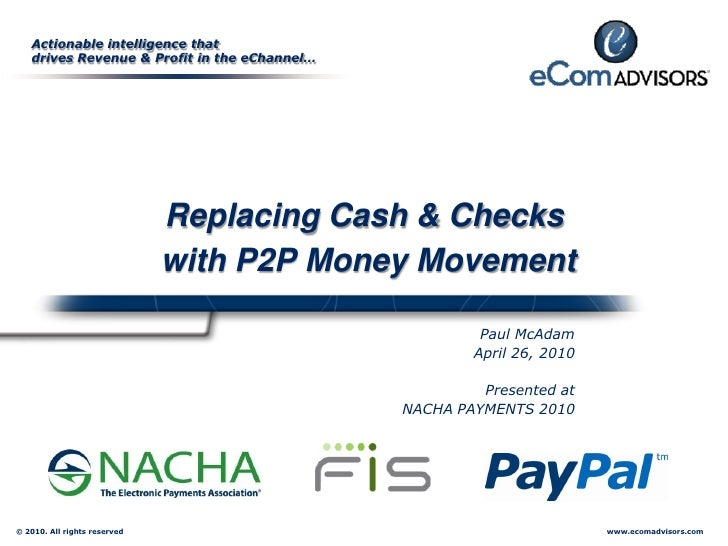 Actionable intelligence that    drives Revenue & Profit in the eChannel…                                   Replacing Cash ...