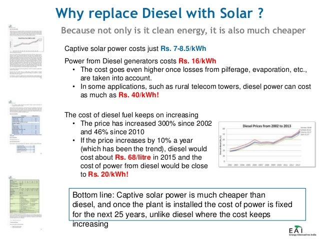 Replacing diesel with solar slideshow - final
