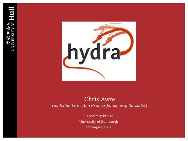 Hydra - Chris Awre