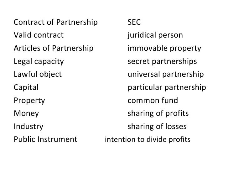 articles of general partnership in the philippines