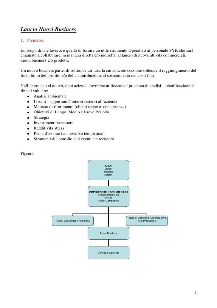 Guida operativa al business planning