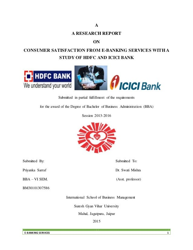 thesis on e-banking services