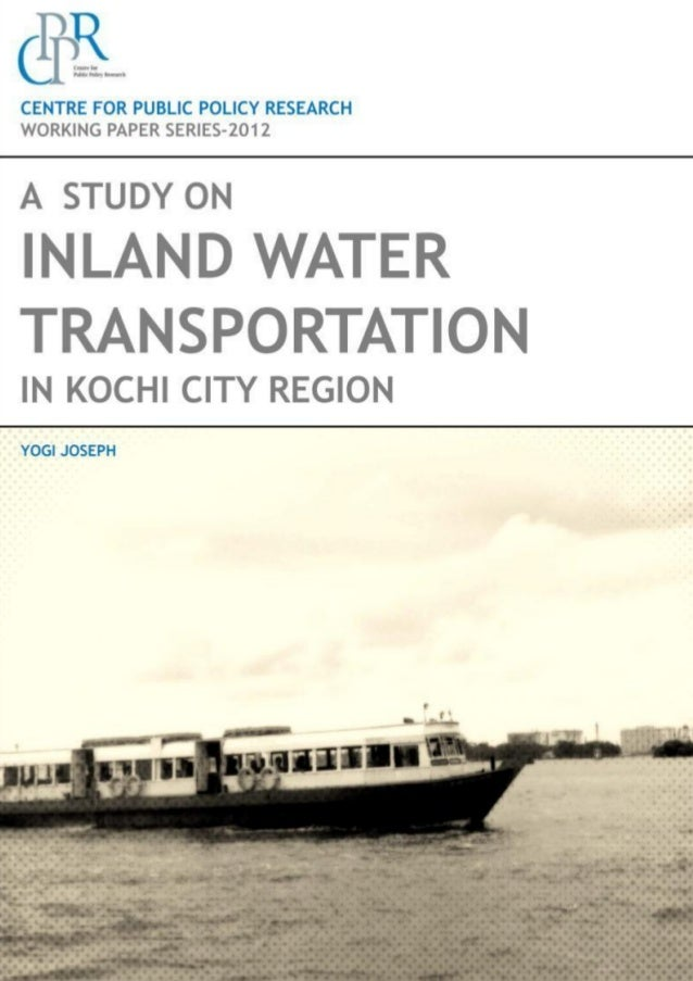 Report on Inland Water Navigation